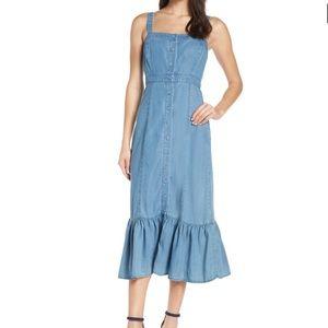BB Dakota Denim Midi Dress